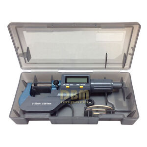 Precision Electronic Digital Micrometer Gauge 0 1 0 25mm 0 00005 0 001mm