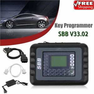 New Sbb V33 02 Car Key Maker Remote Programmer Immobilizer Multi Language Set to