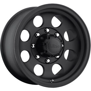17x9 Black Ultra Type 164 164 Wheels 8x6 5 12 Lifted Chevrolet K 2500 8 lug