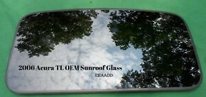 2006 Acura Tl Oem Year Specific Sunroof Glass No Accident Free Shipping