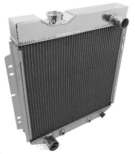 2 Row 1 Discount Champion Radiator For 1965 1966 Ford Mustang V8 Engine
