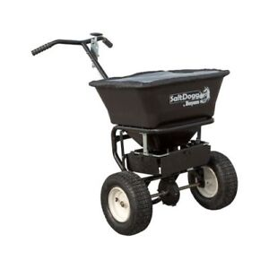 Buyers Products Wb101g Saltdogg 1 5 Cubic Foot Walk Behind Broadcast Spreader
