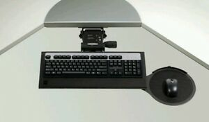 Lot Of 3 New Ergotech Ergonomic Computer Keyboard Tray Mouse Pad Under Desk
