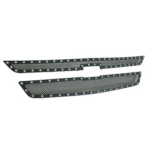 14 18 Chevy Colorado Grille Cutout Black Stainless Steel Wire Mesh Insert