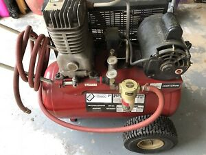 Sears Craftsman 2 Cylinder 12 Gallon Air Compressor