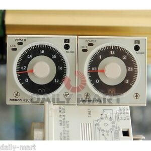 Omron H3cr a8e H3cra8e Timer 100 240vac 100 125vdc New In Box Free Ship