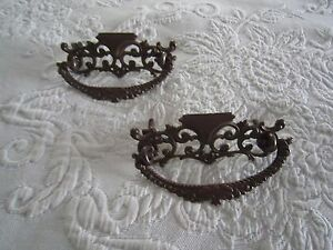 2 Antique Ornate Victorian Drawer Handles Pulls C1900 S Free Shipping