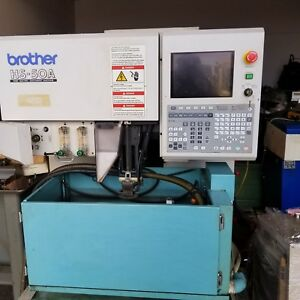 Brother Model Hs 50a Cnc Wire Edm
