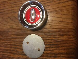 New 1966 67 Fairlane Center Cap Styled Steel Wheel Red Crest Falcon Ford C6oz