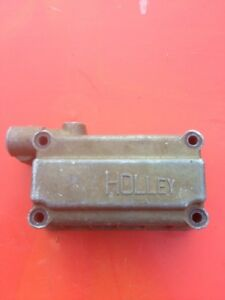 Holley Carb Rear Side Hung Fuel Float Bowl 34r 2460b Free Shipping 311x9
