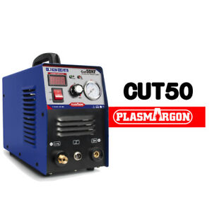 Plasma Cutter Cut50 Inverter 110 220v Dual Voltage Plasma Cutting Consumables