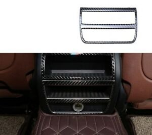 Carbon Fiber Inner Rear Cigarette Lighter Trim 1 Cover For Bmw 5 Series 2011 17
