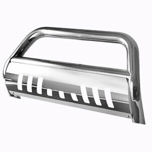 Bull Bar Skid Plate Front Push Bumper Grille Guard For 2009 2016 Dodge Ram 1500