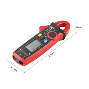 Uni t Ut210e Mini Digital Clamp Multimeter True Rms Dc ac Volmeter Amp Tester Rt