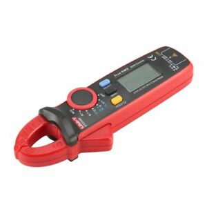 Uni t Ut210d Mini Digital Clamp Multimeter True Rms Auto Range Dc ac Voltage Rt