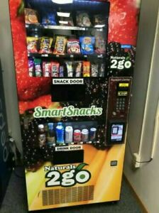 Vending Machine Combo Soda Snack Candy Pop Office Deli Food Truck Genesis