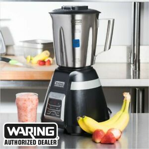 Waring Bb340s Commercial 2 Speed 1 Hp Medium Duty Bar Blender 48oz Jar Blow Out