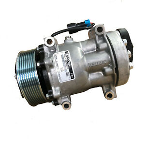 A c Compressor 4485 With Clutch Original Sanden Brand New