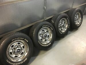Chevelle Rally Rims And Tires