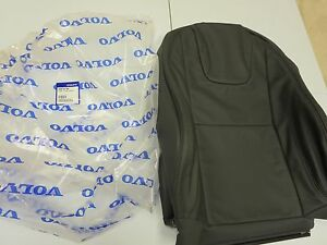 New Volvo Oem 2013 2014 S60 Black Leather Factory Seat Back Cover Factory