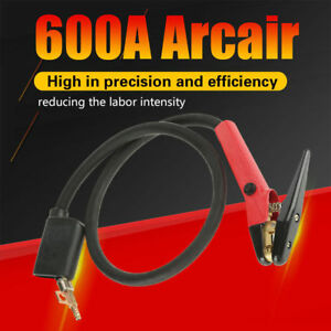 1pc Red Professional 600a Arcair Carbon Arc Gouging Torch Grooves Machining Tool