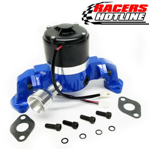 Racers Hotline Chevy 396 454 Bbc Racing Electric Water Pump Blue