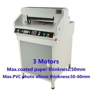 19 480mm Automatic Electric Paper Cutter Cutting Machine Trimmer 4806k