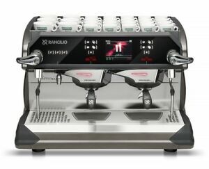 Rancilio Classe 11 Xcelsius Usb 2 Group Espresso Machine New