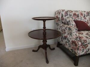 Vintage Willett Solid Cherry Side Tables