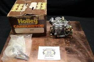 Nos Holley 1bbl Carburetor Model 1946 For 1977 Chevrolet 6 Cyl 250 Engine