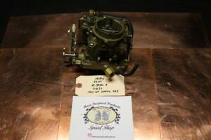 Nos Holley 2bbl Carburetor Model 2209 For 1964 1967 Chevrolet 283 Engine