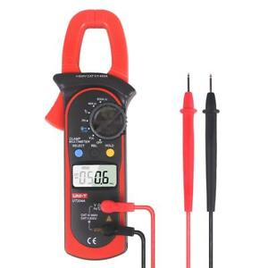 Uni t Ut204a Ac dc Voltage Current Digital Hvac Clamp Meter Withtemperature Test