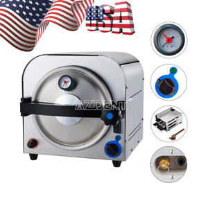 14l Dental Autoclave Steam Sterilizer Medical Sterilization Ce Fda