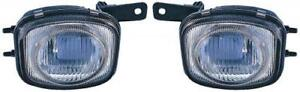 Side pair For 2000 2002 Mitsubishi Eclipse Fog Light Assembly Replacement