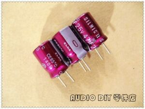 5pcs Elna Purple Robe Silmic Ii Generation 47uf 25v Audio Electrolytic Capacitor