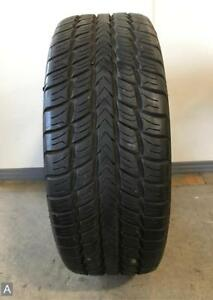 1x P285 45r22 Goodyear Fortera Sl 10 32nds Used Tire
