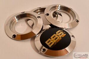 Bbs Motorsport Wheel Center Cap Adapters E88 E28 Polished Stainless Steel