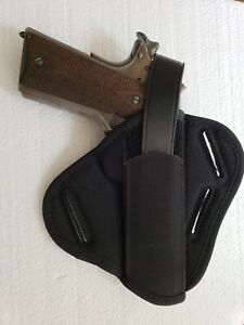 Uncle Mike's Super Belt Slide Holster Ambidextrous 1911 Government 86190