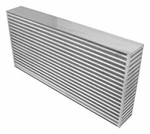 Vibrant Air To Air Intercooler Core 18 W X 12 H X 6 D rated For 1300 Hp