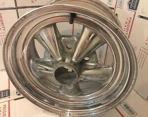 Vintage Early Cragar 14x7 Wheel