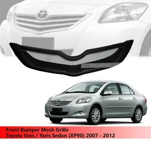 Front Bumper Grille Grill For Toyota Vios Yaris Sedan xp90 2007 2012