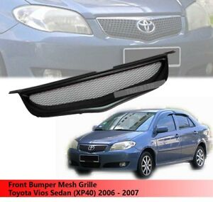Front Bumper Grille Grill For Toyota Vios Sedan xp40 2006 2007
