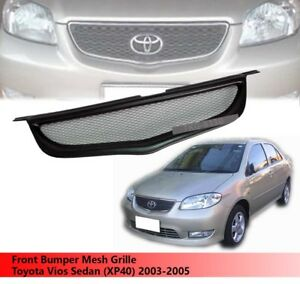Front Bumper Grille Grill For Toyota Vios Sedan xp40 2003 2004 2005 V 2