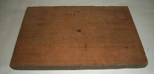 Antique Drawer Face With Dovetail Chestnut Wood 9 1 2 X 6 1 4