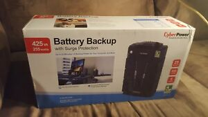 Cyberpower Battery Backup With Surge Protector energy Saving