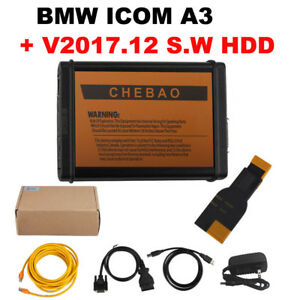 V2017 12 Fit For Bmw Icom A3 Obd2 Auto Diagnostic Tool Get Free Bmw 20pin Cable