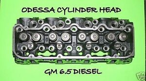 New Gm Chevy Hummer 6 5 Diesel 60 Angle Cylinder Head No Core