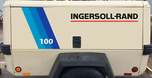 Ingersoll Rand Towable Air Compressor 100 Cfm Decal Kit