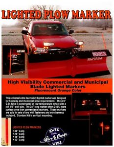 Lighted Snow Plow Markers