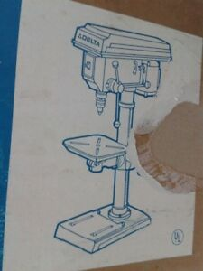 Delta Drill Press 14 Model 14 040 New In Its Delivery Mail Package